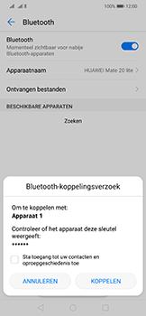 Huawei mate-20-lite-dual-sim-model-sne-lx1 - Bluetooth - Headset, carkit verbinding - Stap 7