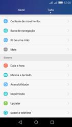 Huawei Y6 - Primeiros passos - Como encontrar o número de IMEI do seu aparelho - Etapa 3