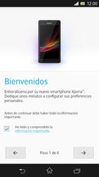 Sony Xperia Z - Primeros pasos - Activar el equipo - Paso 6