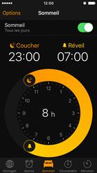 Apple iPhone SE - iOS 10 - iOS features - Coucher - Étape 11