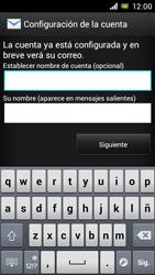 Sony Xperia J - E-mail - Configurar correo electrónico - Paso 17