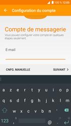 Alcatel Shine Lite - E-mail - Configuration manuelle - Étape 6
