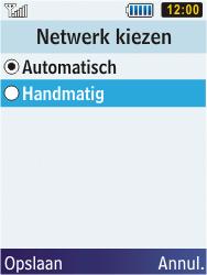 Samsung S5610 Primo - Netwerk - gebruik in het buitenland - Stap 9