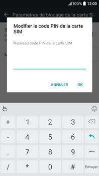 HTC Desire 825 - Sécuriser votre mobile - Personnaliser le code PIN de votre carte SIM - Étape 8