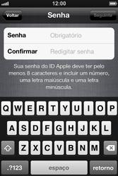 Apple iPhone iOS 5 - Primeiros passos - Como ativar seu aparelho - Etapa 17
