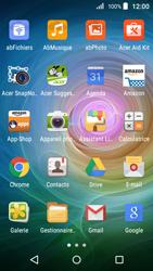 Acer Liquid Z320 - E-mail - Configurer l