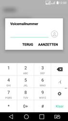 LG K4 (2017) (LG-M160) - Voicemail - Handmatig instellen - Stap 9