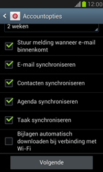 Samsung I8190 Galaxy S III Mini - E-mail - handmatig instellen (outlook) - Stap 9