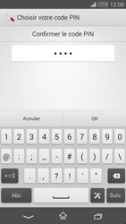 Sony Xpéria T3 - Sécuriser votre mobile - Activer le code de verrouillage - Étape 10