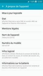 Samsung A310F Galaxy A3 (2016) - Appareil - Mises à jour - Étape 6