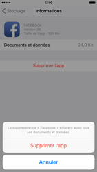 Apple iPhone 6s - Applications - Supprimer une application - Étape 8