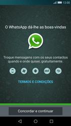 Huawei P8 Lite - Aplicações - Como configurar o WhatsApp -  5