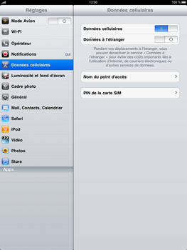 Apple iPad - Internet - configuration manuelle - Étape 4