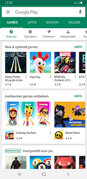 Samsung galaxy-a6-plus-sm-a605fn-ds-android-pie - Applicaties - Downloaden - Stap 5