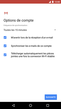 Huawei Nexus 6P - Android Oreo - E-mail - Configuration manuelle - Étape 19
