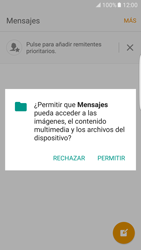 Samsung Galaxy S7 Edge - Mensajería - Escribir y enviar un mensaje multimedia - Paso 5