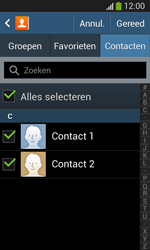 Samsung I8200N Galaxy S III Mini VE - Contacten en data - Contacten overzetten via Bluetooth - Stap 7