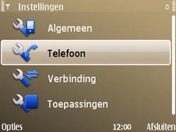 Nokia E72 - Bellen - in het buitenland - Stap 5