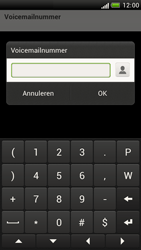 HTC Z520e One S - Voicemail - handmatig instellen - Stap 7