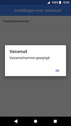 Sony Xperia XA2 - Voicemail - handmatig instellen - Stap 12