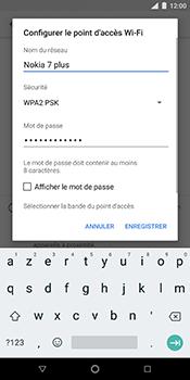 Nokia 7 Plus - Internet et connexion - Partager votre connexion en Wi-Fi - Étape 8
