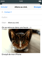 Apple iPhone 6s - E-mails - Envoyer un e-mail - Étape 14