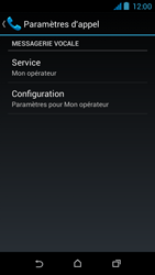 HTC Desire 310 - Messagerie vocale - Configuration manuelle - Étape 11