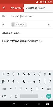 Alcatel 3L - E-mails - Envoyer un e-mail - Étape 10