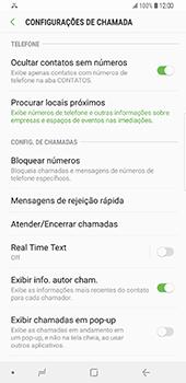 Samsung Galaxy S9 Plus - Chamadas - Como bloquear chamadas de um número -  6
