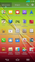 LG G2 - Mensajería - Configurar el equipo para mensajes de texto - Paso 3