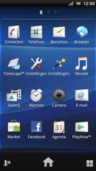 Sony Ericsson R800 Xperia Play - MMS - probleem met ontvangen - Stap 3