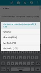 Samsung G900F Galaxy S5 - E-mail - Escribir y enviar un correo electrónico - Paso 16