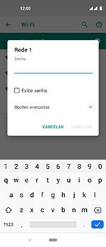 Motorola One Vision - Wi-Fi - Como configurar uma rede wi fi - Etapa 8