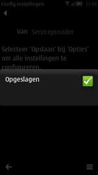 Nokia 700 - MMS - automatisch instellen - Stap 8