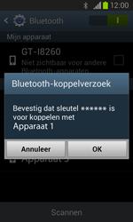 Samsung I8260 Galaxy Core - Bluetooth - headset, carkit verbinding - Stap 7