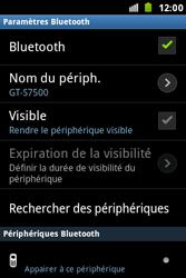 Samsung S7500 Galaxy Ace Plus - Bluetooth - connexion Bluetooth - Étape 9