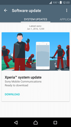 Sony F5321 Xperia X Compact - Network - Installing software updates - Step 7