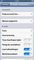Apple iPhone 5 - E-mail - handmatig instellen - Stap 4