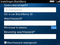 BlackBerry 9720 Bold - BlackBerry activeren - BlackBerry ID activeren - Stap 10