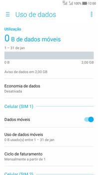Asus Zenfone Selfie - Rede móvel - Como ativar e desativar uma rede de dados - Etapa 5