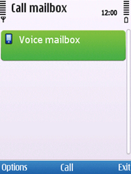 Nokia C5-00 - Voicemail - Manual configuration - Step 5