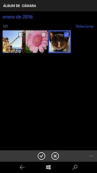 Microsoft Lumia 950 XL - Mensajería - Escribir y enviar un mensaje multimedia - Paso 13