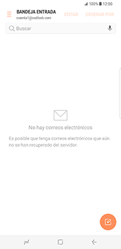 Samsung Galaxy S8 Plus - E-mail - Configurar Outlook.com - Paso 5