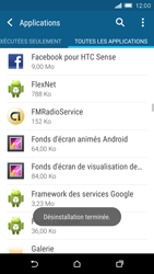 HTC One M9 - Applications - Supprimer une application - Étape 8