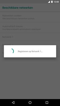 Huawei Nexus 6P - Android Oreo - Netwerk - Handmatig een netwerk selecteren - Stap 10