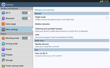 Samsung P5220 Galaxy Tab 3 10-1 LTE - Internet - Enable or disable - Step 5