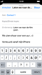 Apple iphone-5s-ios-12 - E-mail - Bericht met attachment versturen - Stap 8
