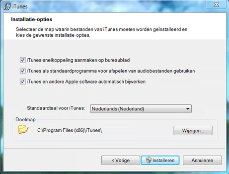 Apple iPhone 4 - Software - Download en installeer PC synchronisatie software - Stap 3