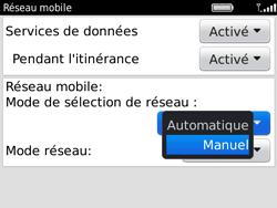 BlackBerry 9780 Bold - Réseau - Utilisation à l