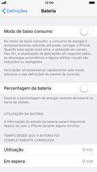 Apple iPhone 8 - Bateria - Modo de poupança -  4